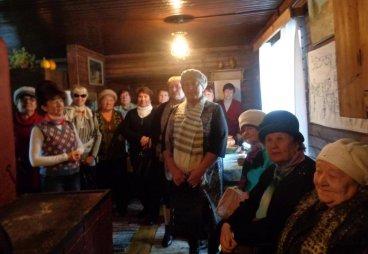 Волонтеры Союза пенсионеров России провели практическое занятие в музее заповеднике «Изборск»