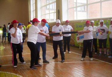 Союз пенсионеров России по Псковской области отметил День России «Днем здоровья» в городе Острове