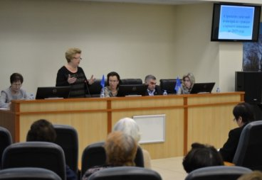Функционирование геронтологической службы в Псковской области обсудили на конференции «Союза пенсионеров»