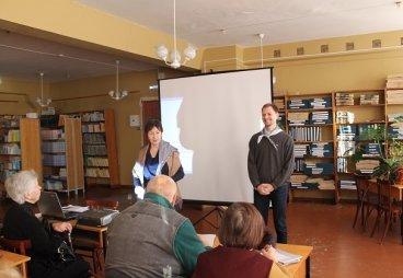Псковские активисты ОНФ провели занятие по экологической грамотности в Университете третьего возраста
