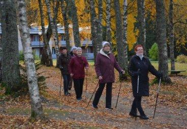 Слушатели Университета третьего возраста отдохнули на турбазе «Пушкиногорье» по программе «В гости к Пушкину»
