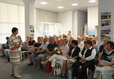 Пресс-конференция Университета серебряного возраста прошла в Пскове