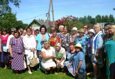 В Логозовской волости состоялась встреча с творческими и интересными людьми старшего поколения