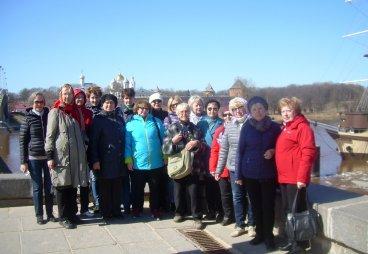 Активисты проекта «Псковская Ганза 39 посетили Великий Новгород