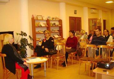В библиотеке «Родник» состоялась презентация проекта РО СПР «Псковская Ганза 39 - площадка для европейского партнерства».