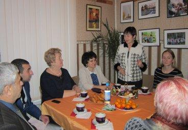 Вечер-портрет с руководителем Псковской городской поликлиники Г.И. Невалённой