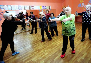 Университет третьего возраста открыл группы здоровья факультета «Здоровье и долголетие» в Карамышево и Тямше