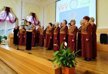 В Пскове состоялся смотр ветеранских хоров «Нам года не беда, коль душа молода» (ВИДЕО)
