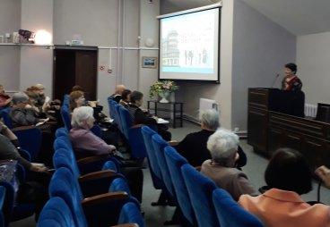 В ПФР города Пскова прошла лекция для слушателей факультета «Здоровье и долголетие»