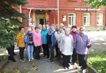 Члены исторического клуба «Лира» посетили лекцию-экскурсию «Набережные Порхова»