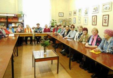 Первая лекция факультета «Здоровье и долголетие» прошла в Пустошкинский районной библиотеке