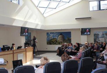 В Пскове прошел открытый форум «Нам года - не беда! В строю волонтеров Псковской Ганзы 2019 года»
