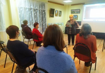 Татьяна Некрасова: Мы не можем общаться сейчас в полной мере, но у нас есть отличный помощник для общения - это интернет!