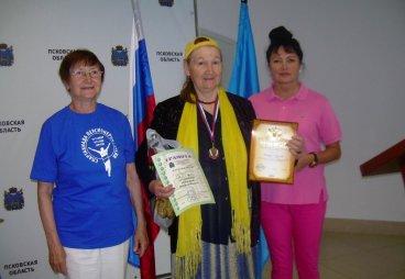 В Пскове прошла V Региональная спартакиада пенсионеров