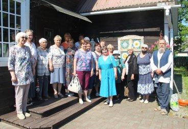Члены местных отделений СПР по Псковской области приняли участие в выездном зональном семинаре «Кладовая народной мудрости»