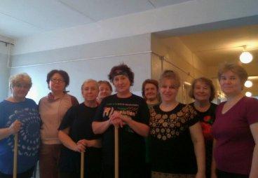 В Гдове состоялась встреча участников клубов «Здоровье и долголетие» и «Рябинушки»