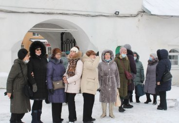Слушатели Университета третьего возраста приняли участие в мероприятии «Древние храмы Пскова - духовные защитники города»