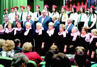 Пыталовский народный хоровой коллектив «С песней по жизни» стал призером белорусского интернет-фестиваля «Нам года - не беда»
