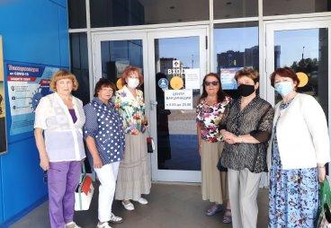 Активисты РО ООО Союз пенсионеров России по Псковской области вошли в число волонтёров вакцинации