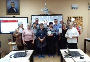 Социальный проект «Компьютерная грамотность - каждому пенсионеру на селе», продолжается