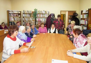 Отделение ООО СПР Псковского района наметило большие планы по работе со старшим поколением