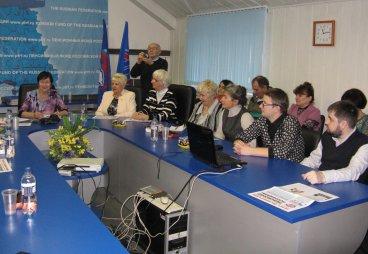 В Пскове прошел выездной семинар для руководителей ветеранских и общественных национальных организаций