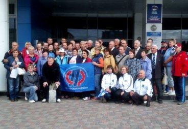 Третья спартакиада пенсионеров прошла в Пскове