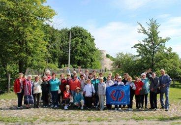 Встреча на Тропе Здоровья прошла в музее-заповеднике «Изборск»