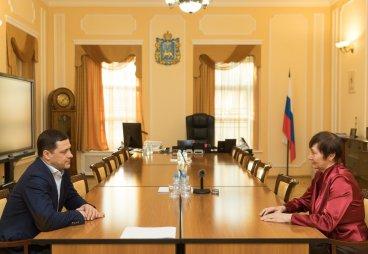 Светлана Мельничук стала общественным помощником Губернатора Псковской области