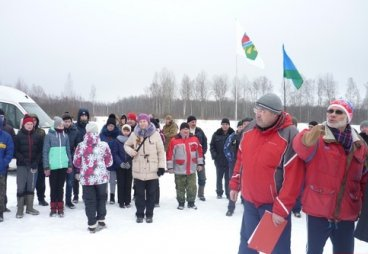 В Дедовичском районе состоялся «Снежный десант»