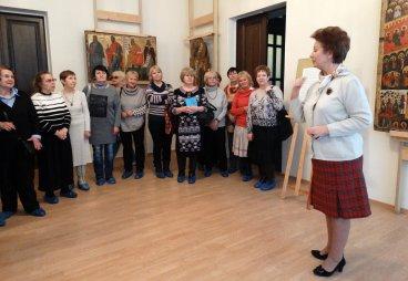 «Встреча добрых друзей» состоялась в Фондохранилище Псковского музея-заповедника