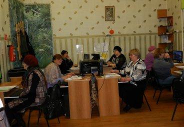В Новоржевском районе приступили к реализации социального проекта «Компьютер для жизни»