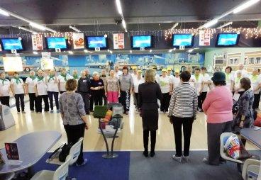 (ФОТО) «Игровая терапия» по боулингу прошла в Пскове