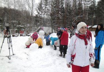 Встреча на «Тропе Здоровья» на базе отдыха «Динамо», 30 января 2019 года