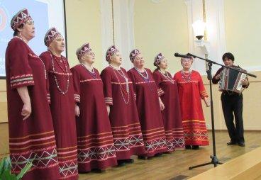 Cмотр ветеранских хоров «Нам года не беда, коль душа молода», г.Псков, 26 апреля 2016 года