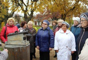 (ФОТО) «Встреча на тропе здоровья» прошла в Пушкинском музее-заповеднике