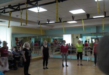 Конкурс ритмики и танца членов клуба оздоровительного танца «А ну-ка, девушки», клуб «Оазис» 29 марта 2017 года
