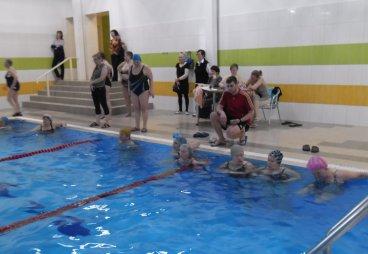 Спортивно культурное мероприятие «День здоровья», бассейн «Четыре сезона» г.Порхов, 30 марта 2017 года