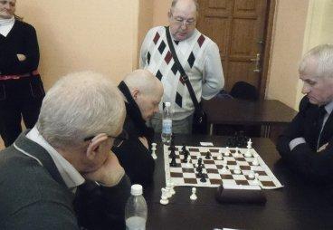 Региональный шахматный турнир среди пенсионеров, г.Псков, 31 марта 2017 года